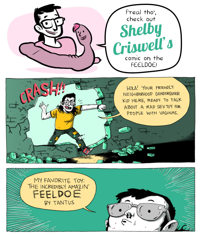 NSFW Guest Comics for Oh Joy Sex Toy