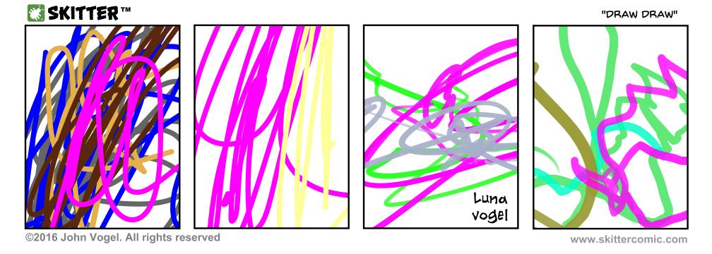 """BONUS COMIC 'Draw Draw"""""""