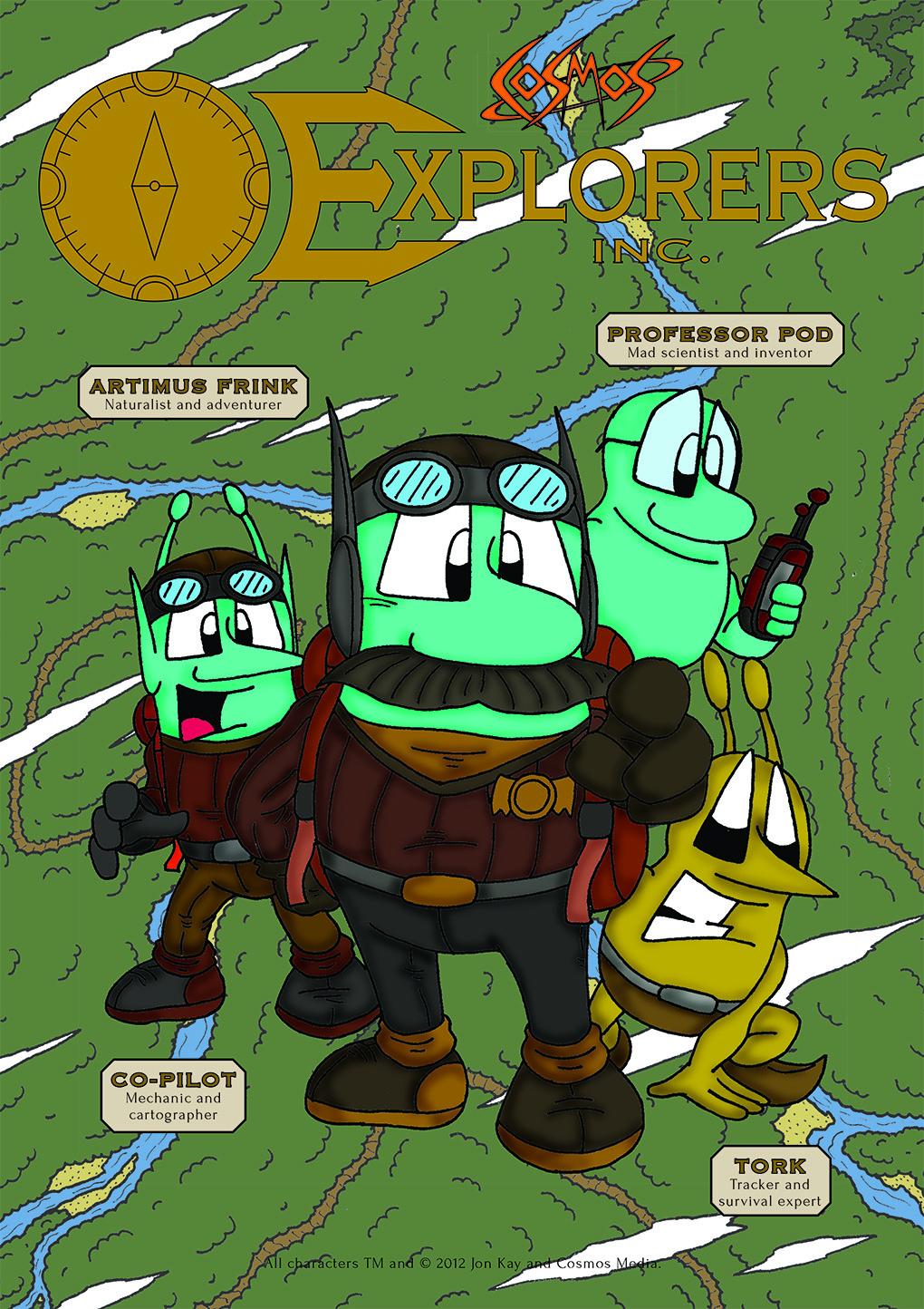 Explorers Inc Adventure Pack poster
