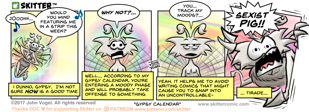 Gypsy Calendar