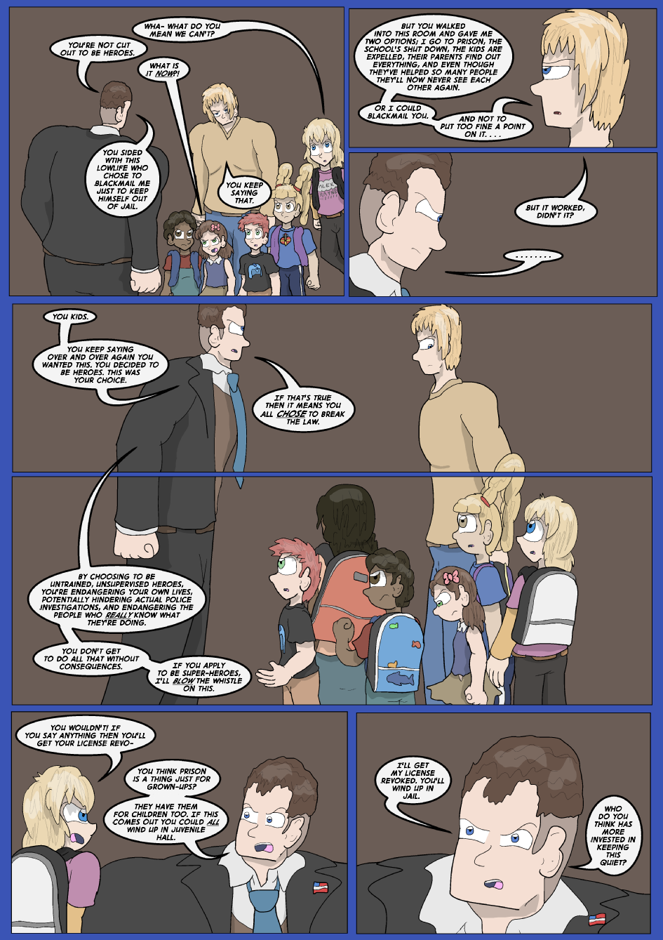Showing Your Blue Colors- Page 14