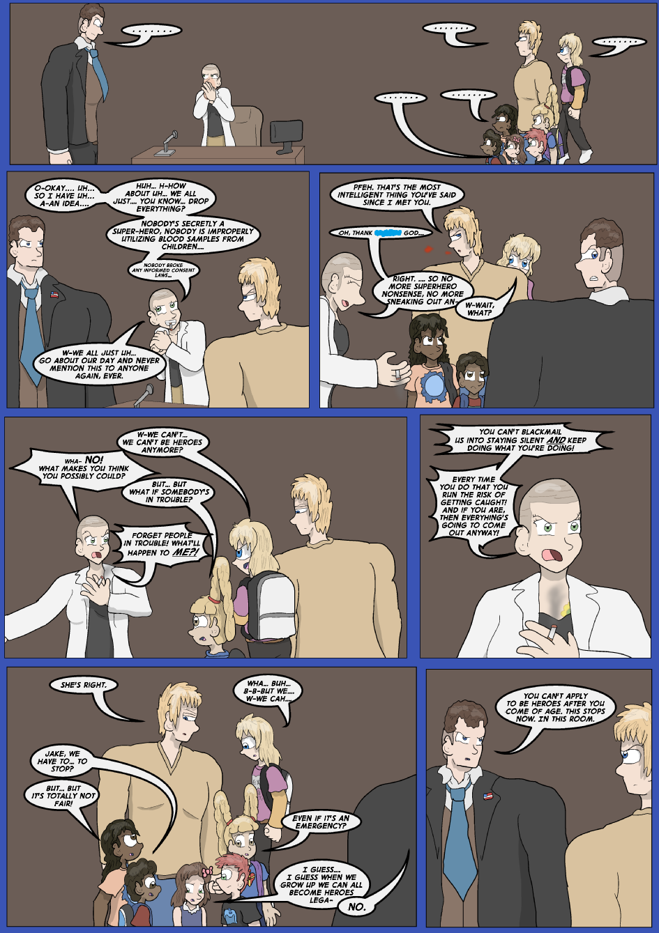 Showing Your Blue Colors- Page 13