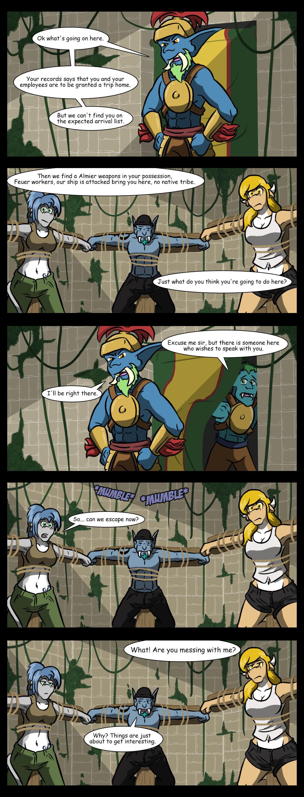 Captain interrogation