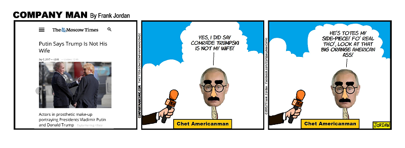 Look, it's #ChetAmericanman! 9/6/17