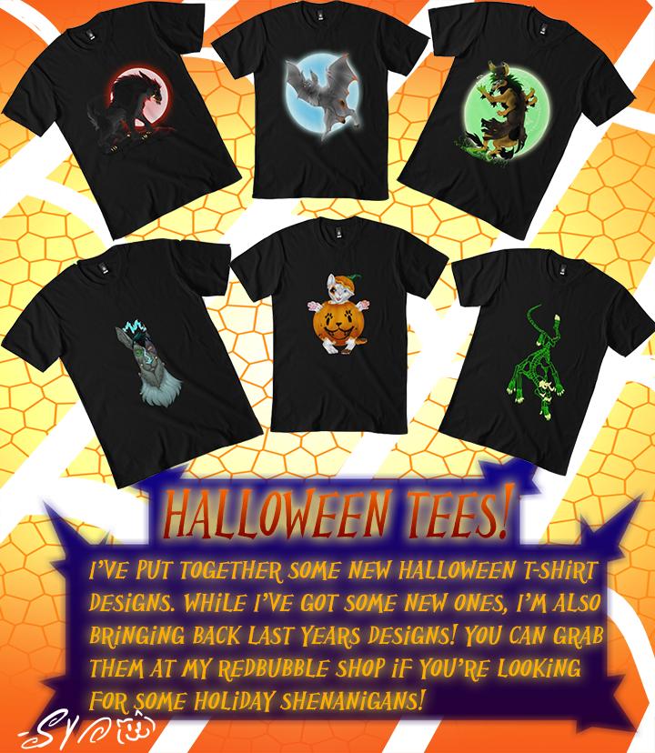 Halloween T-Shirt Promo!