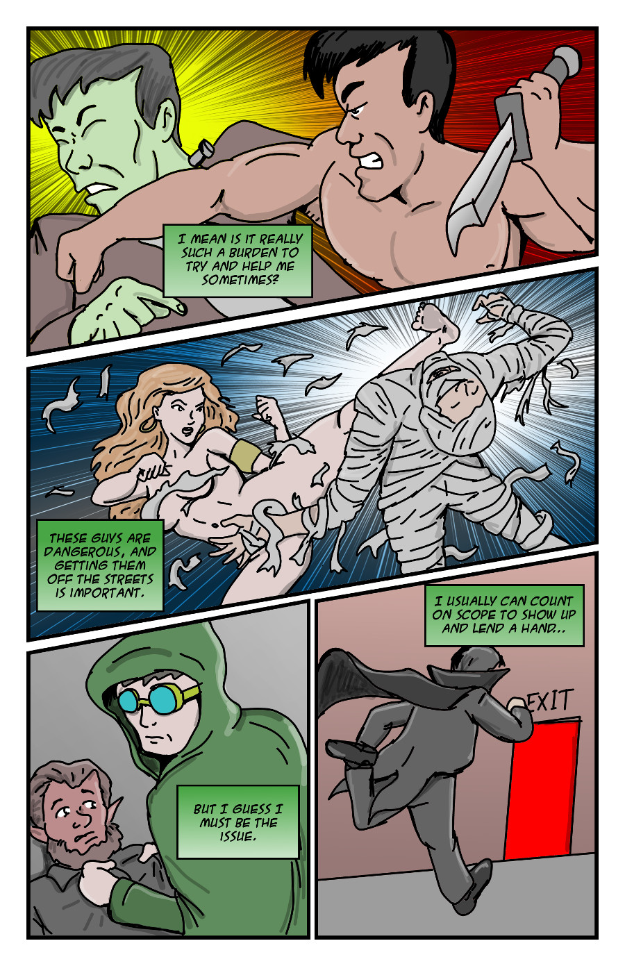 The Green Dove by Jay042 Page 3
