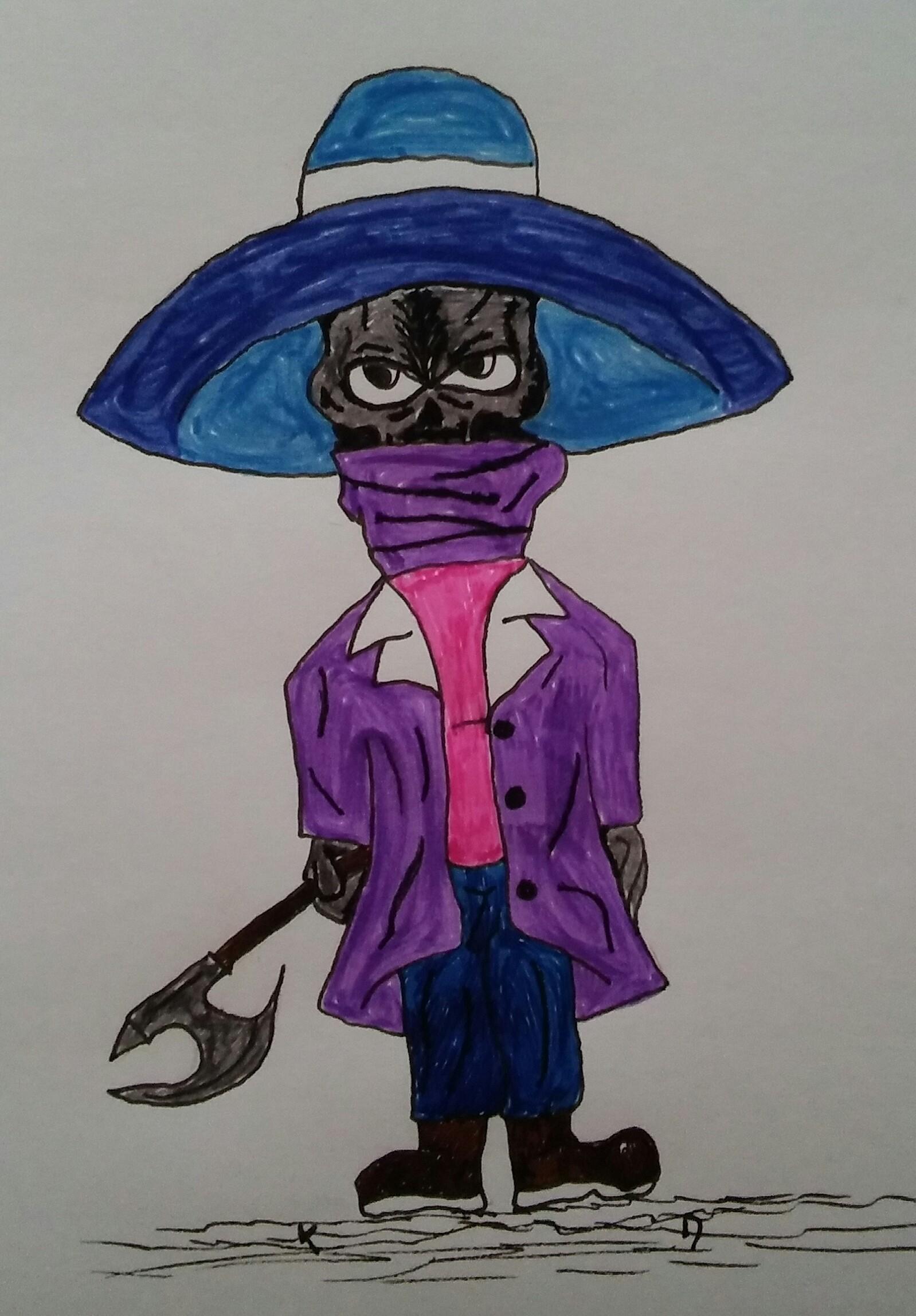 Purple people slasher