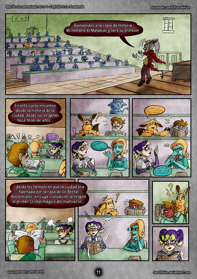 Cap 5 - Pag 11: Clase de Historia