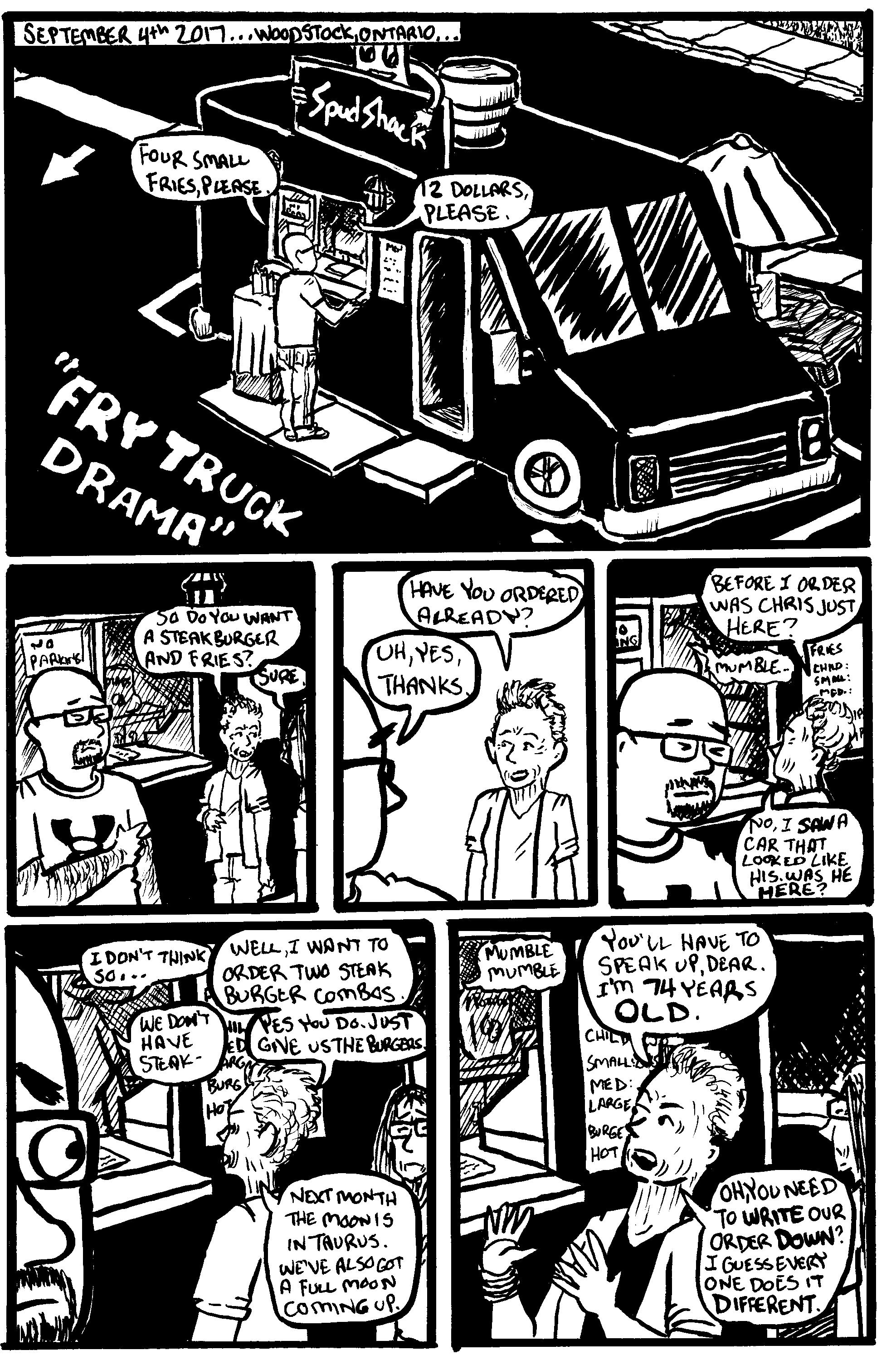 Fry Truck Drama