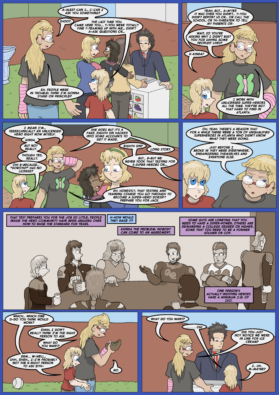 Lock Blue Up- Page 12
