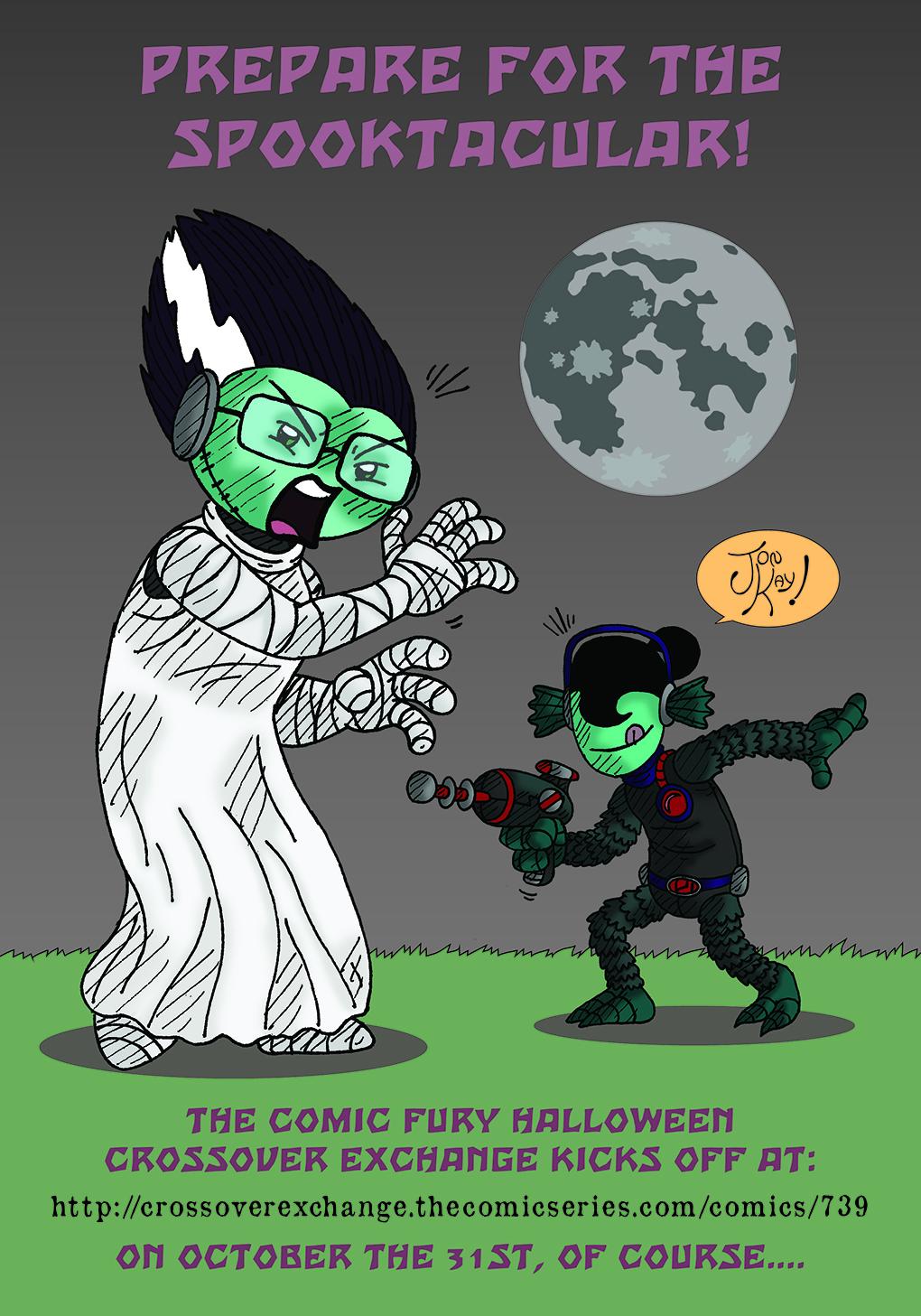 Halloween crossover promo!