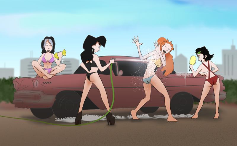 Car Wash (by Chippewa Ghost)