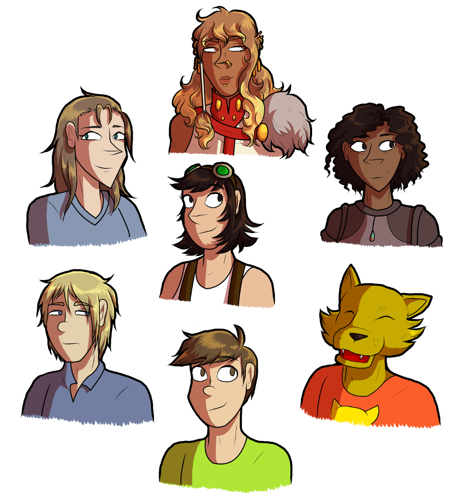 Babette and other CF Characters (by JammyTheBirb)