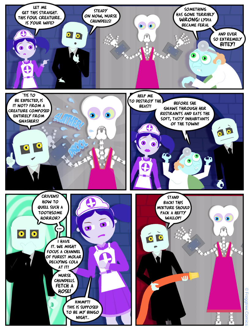 Doctor Trembles and The Toothy Terror (2/3)