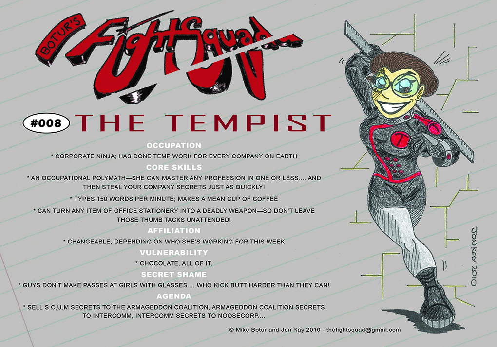 Character Profile: The Tempist