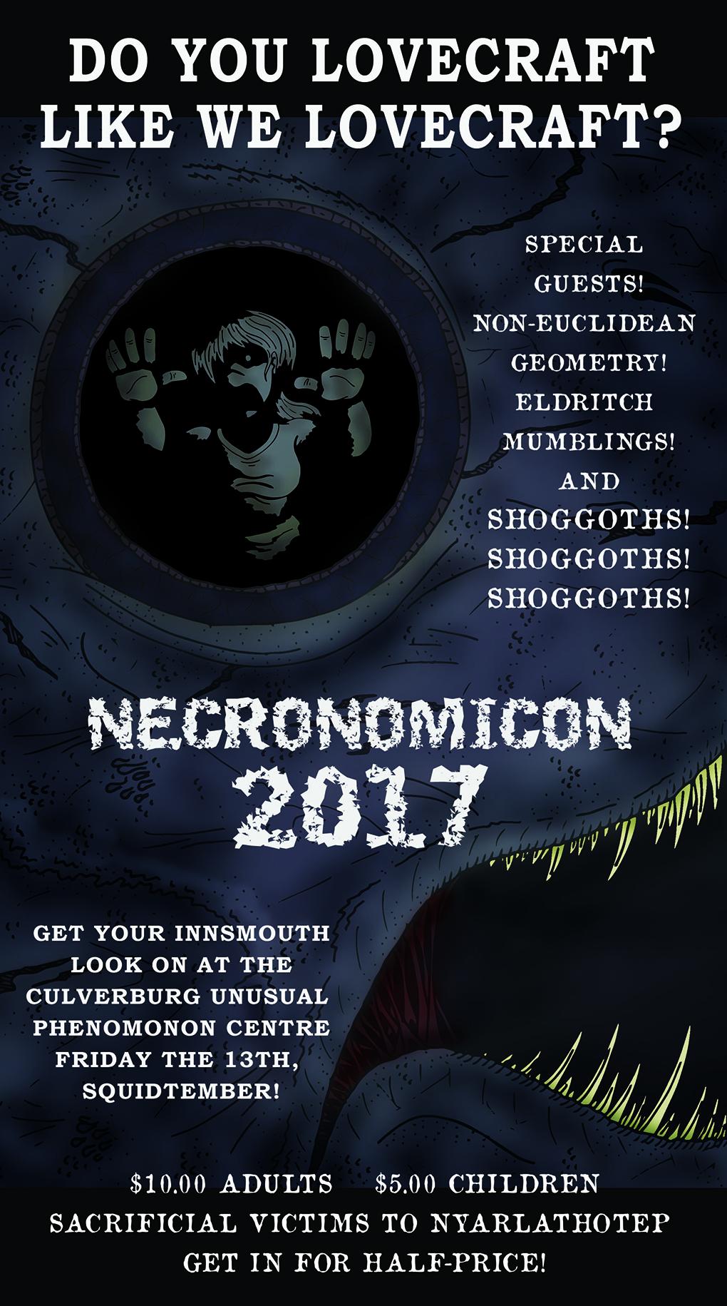 Necronomicon 2017!
