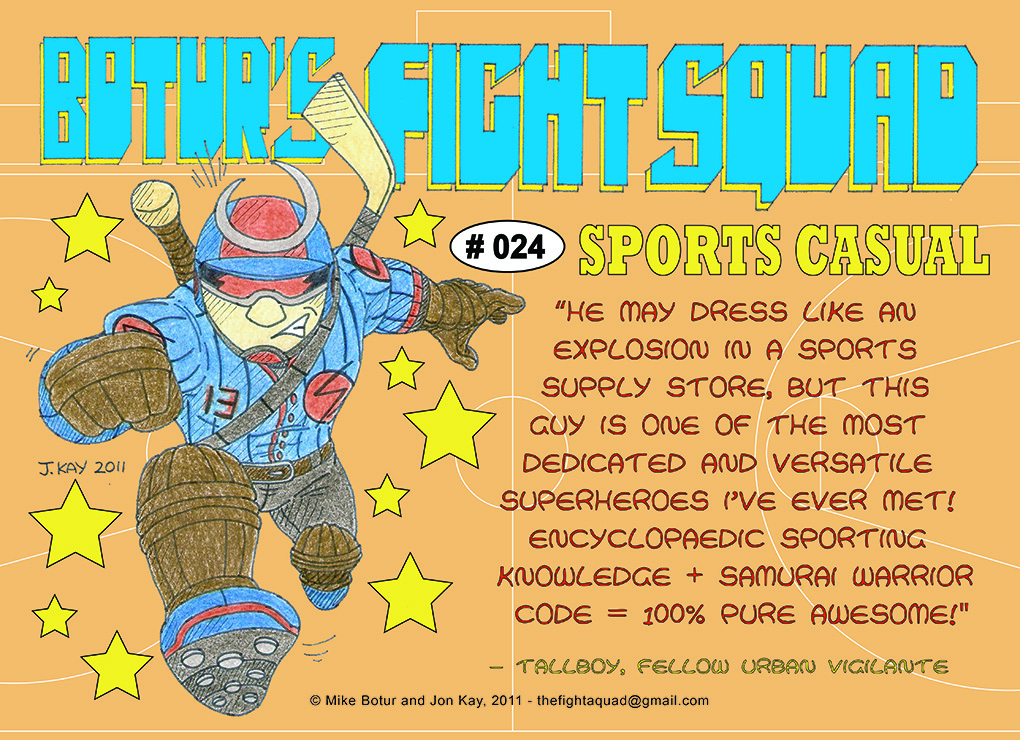 Character profile: Sports Casual
