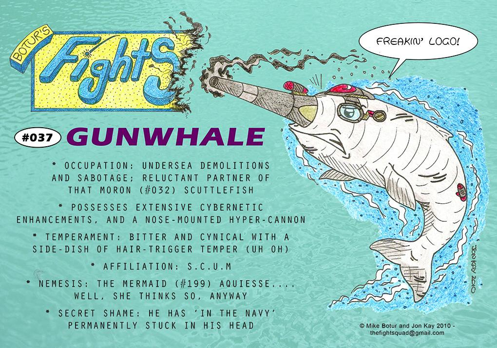 Character profile: Gunwhale