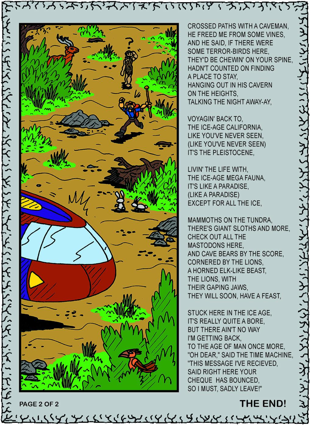 'Ice Age Megafauna', page 2