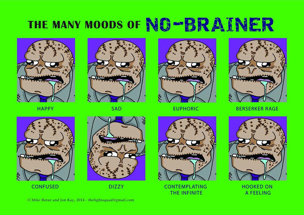 Supervillain Mood chart