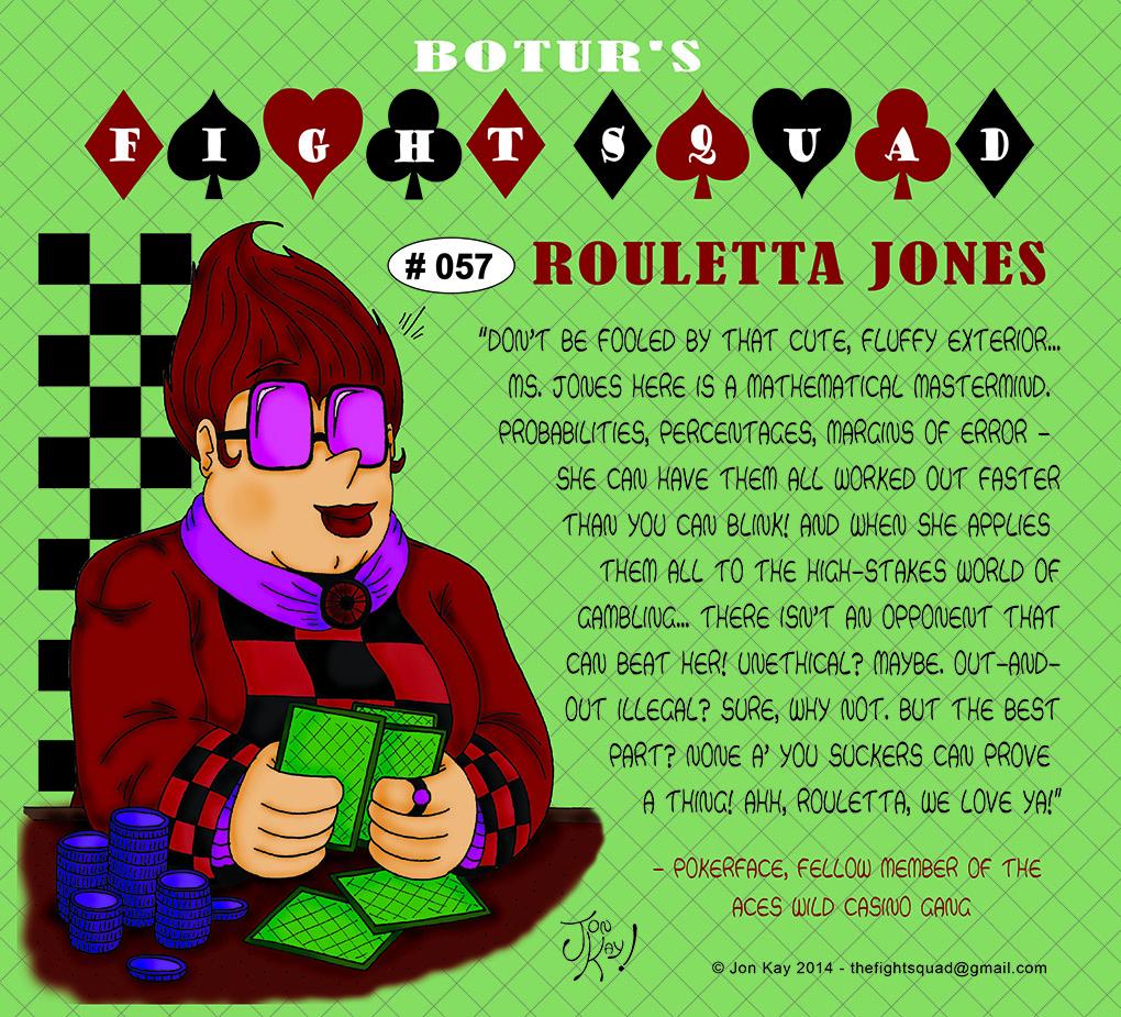 Character profile: Rouletta Jones