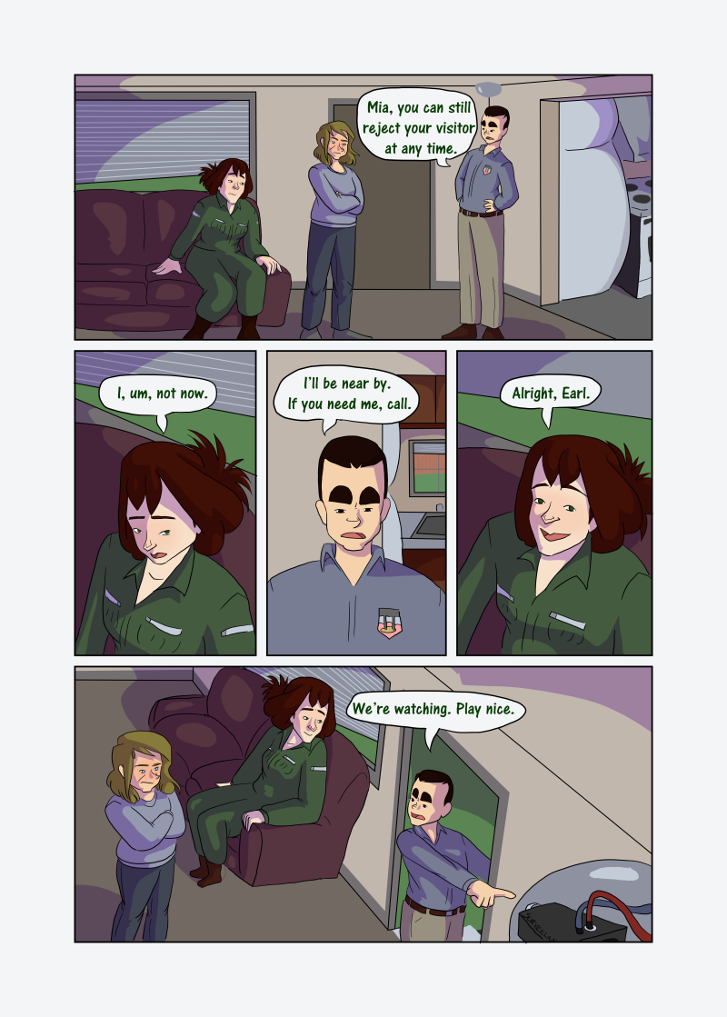 Unwanted Attention: Page 19