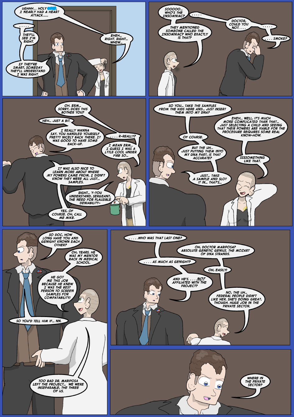 Showing Your Blue Colors- Page 16
