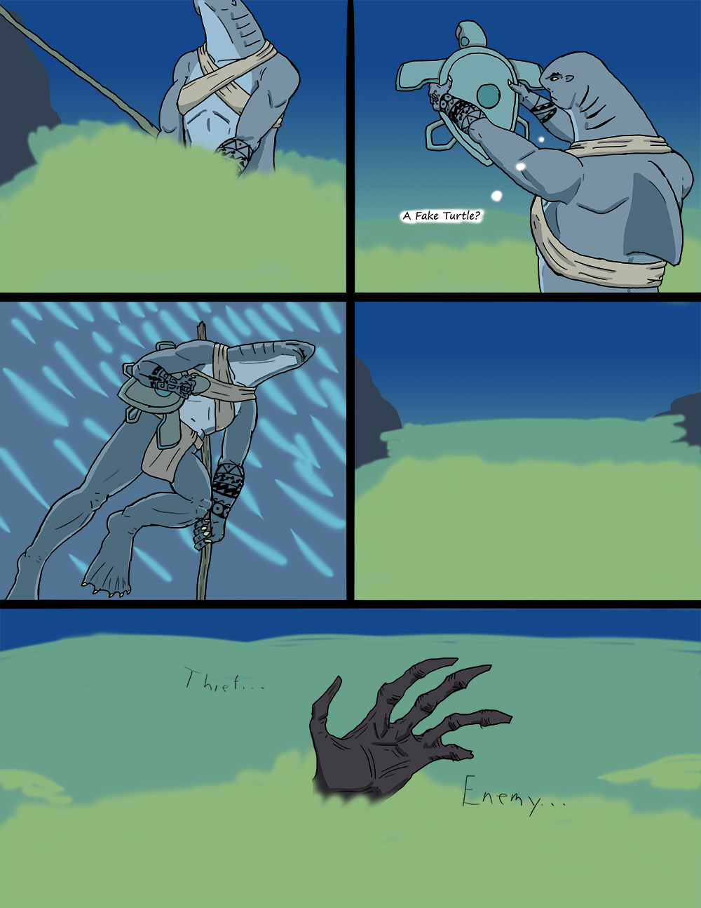 The Wide Ocean - Page 32