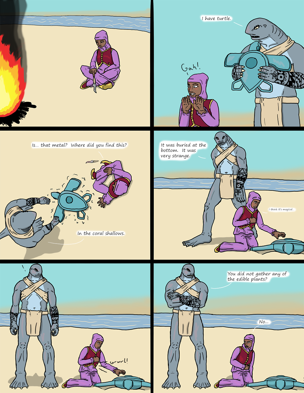 The Wide Ocean - Page 33