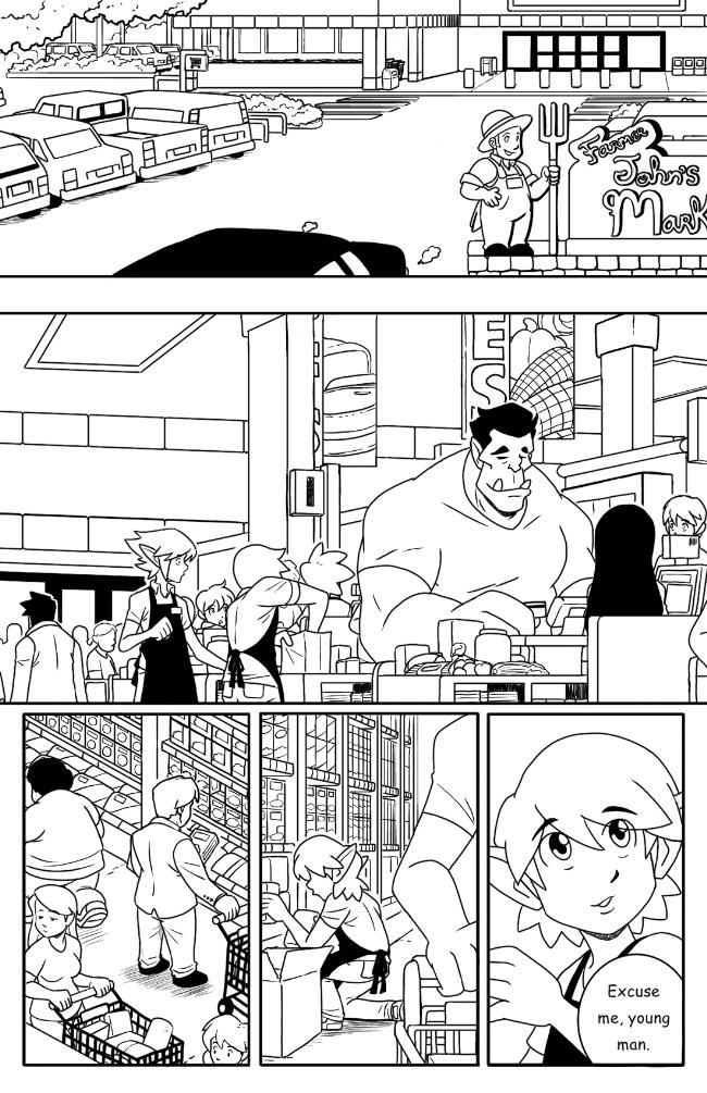 Supermarket Shuffle pg.1