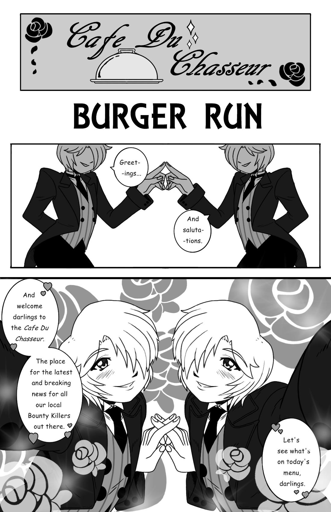 Burger Run pg.1