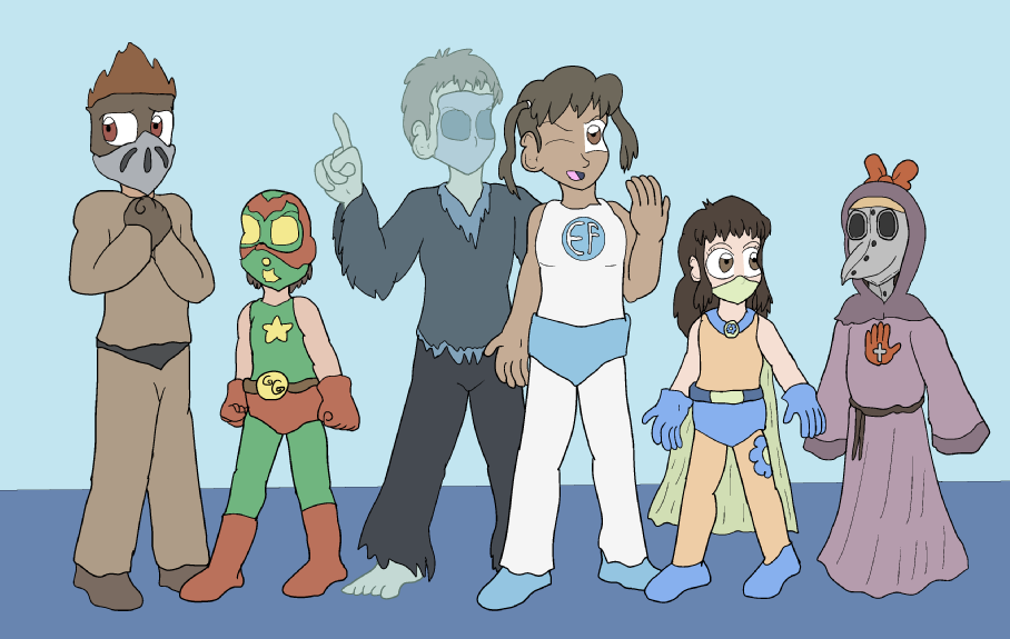True Blue Filler: 6 Heroes