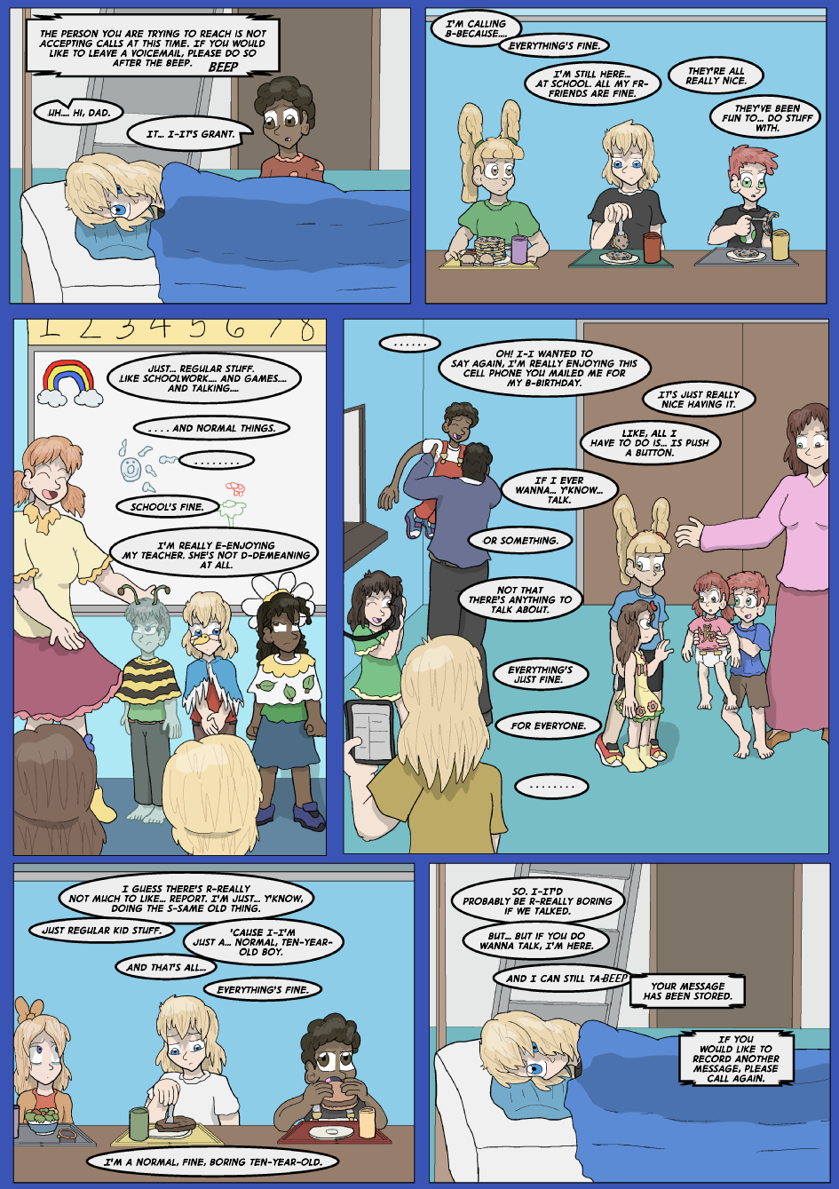 Lock Blue Up- Page 1