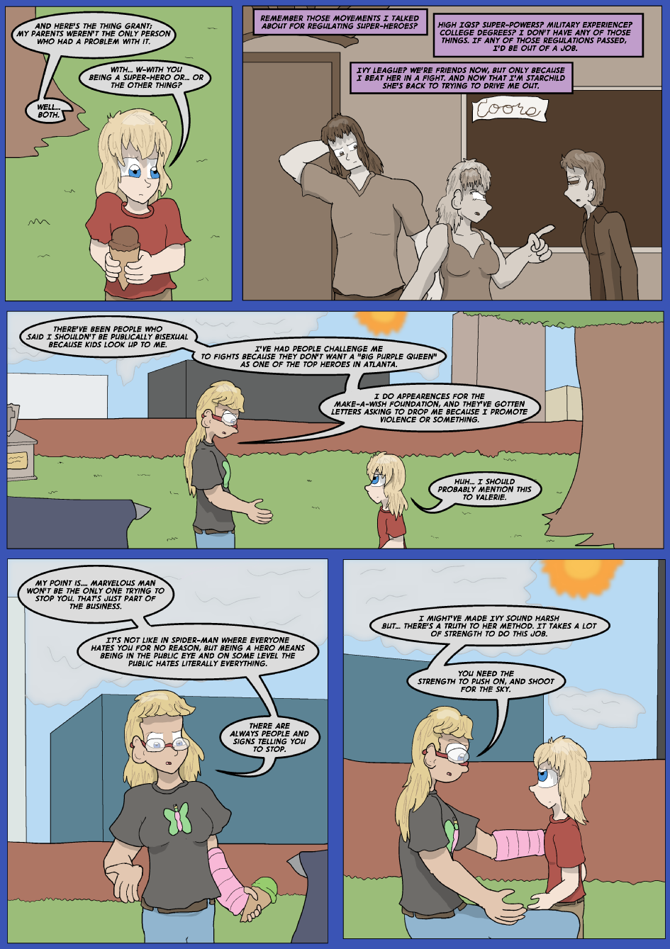 Lock Blue Up, Page 16