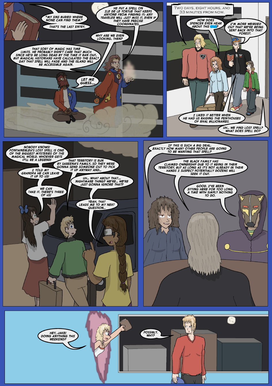 The Fontainebleu Pages, Page 10