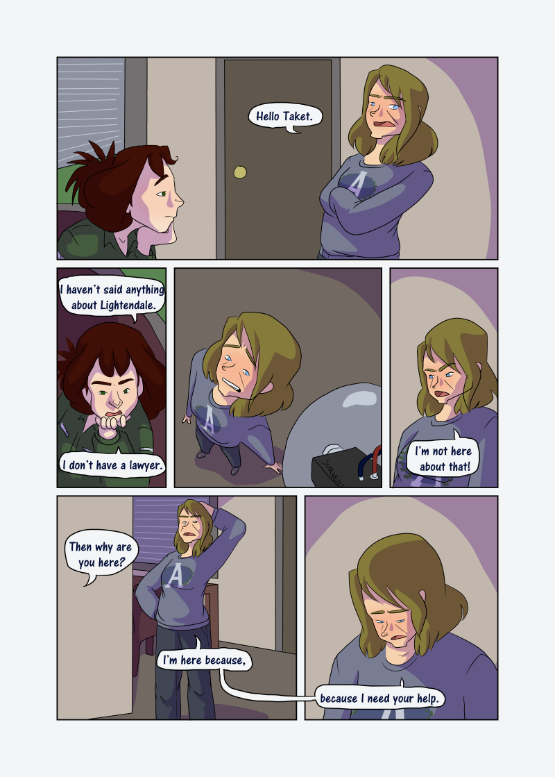 Unwanted Attention: Page 20
