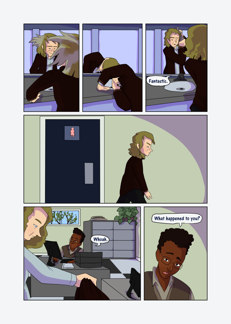 Unwanted Attention: Page 27