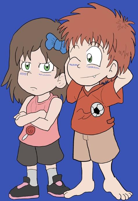 True Blue Filler - The Blue Children
