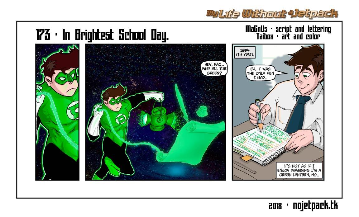 173 - In Brightest School Day.