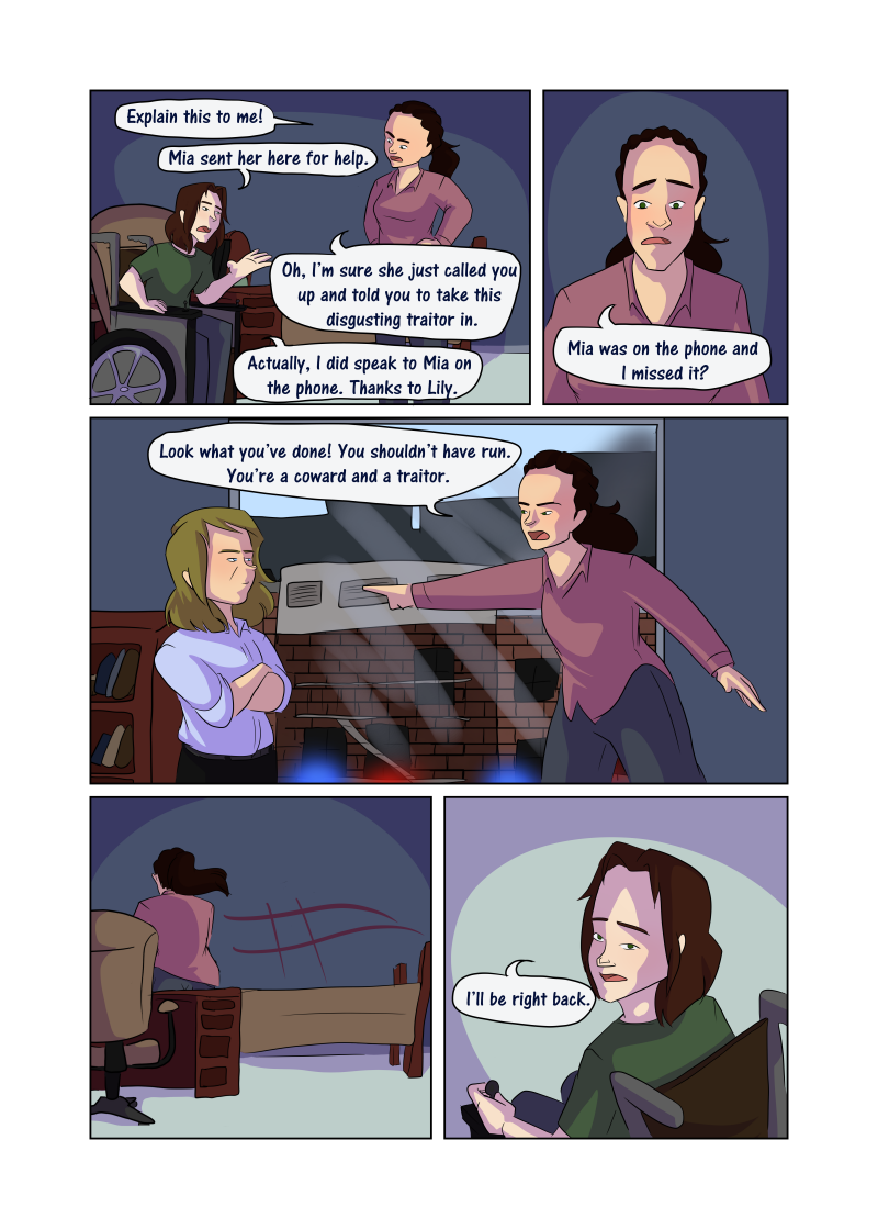 Unwanted Attention: Page 47