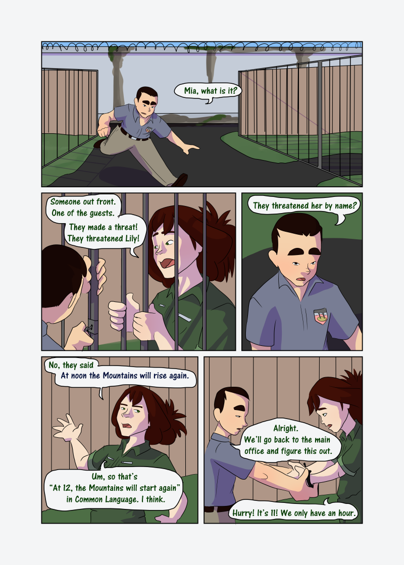 Unwanted Attention: Page 31