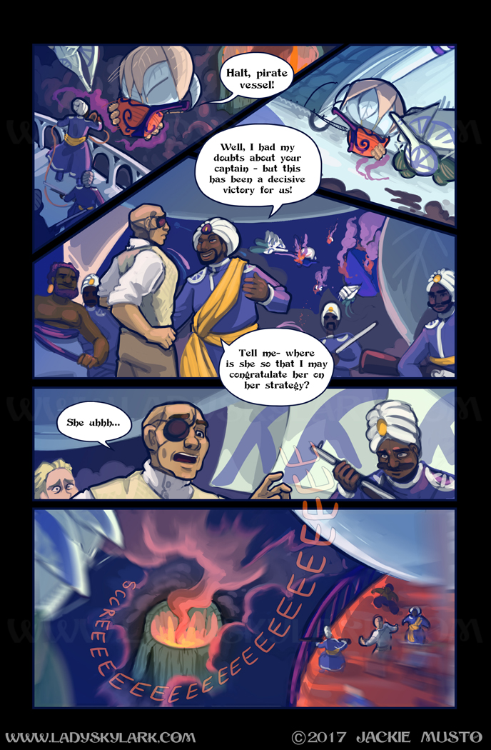 Lady Skylark and the Queen's Treasure - Page 278