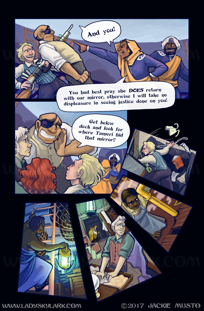 Lady Skylark and the Queen's Treasure - Page 281