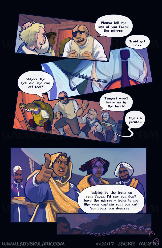 Lady Skylark and the Queen's Treasure - Page 282