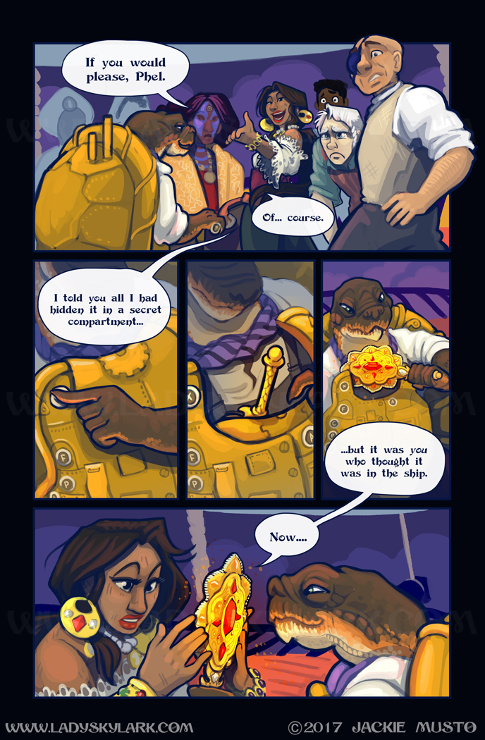 Lady Skylark and the Queen's Treasure - Page 285