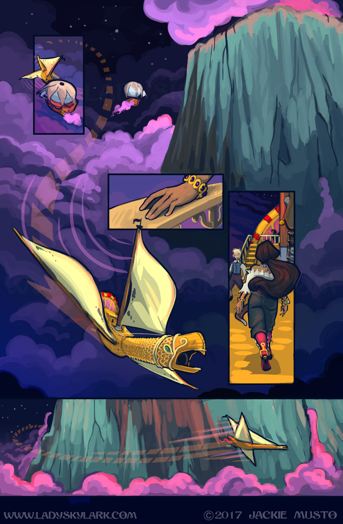 Lady Skylark and the Queen's Treasure - Page 292