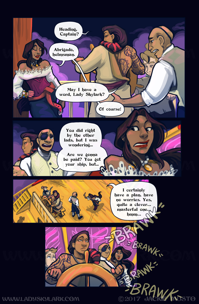 Lady Skylark and the Queen's Treasure - Page 293