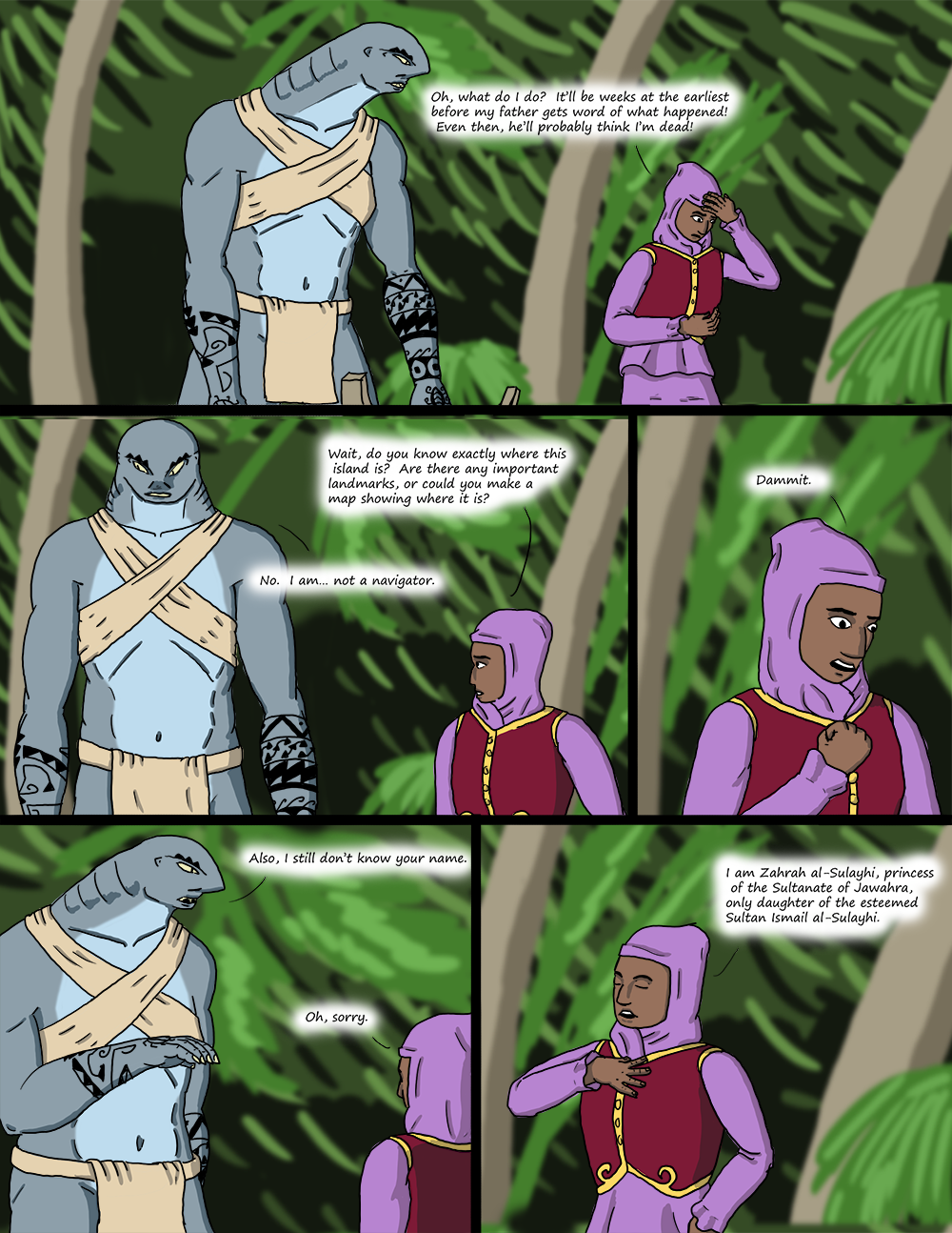 The Wide Ocean - Page 8