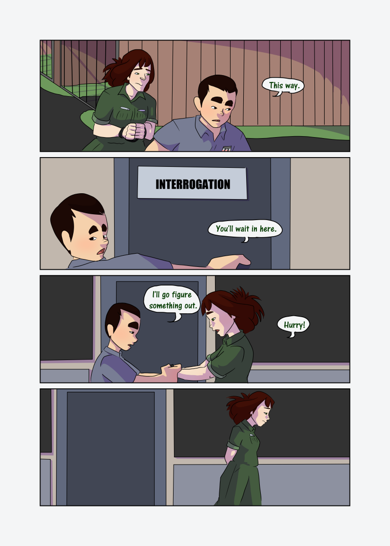 Unwanted Attention: Page 32