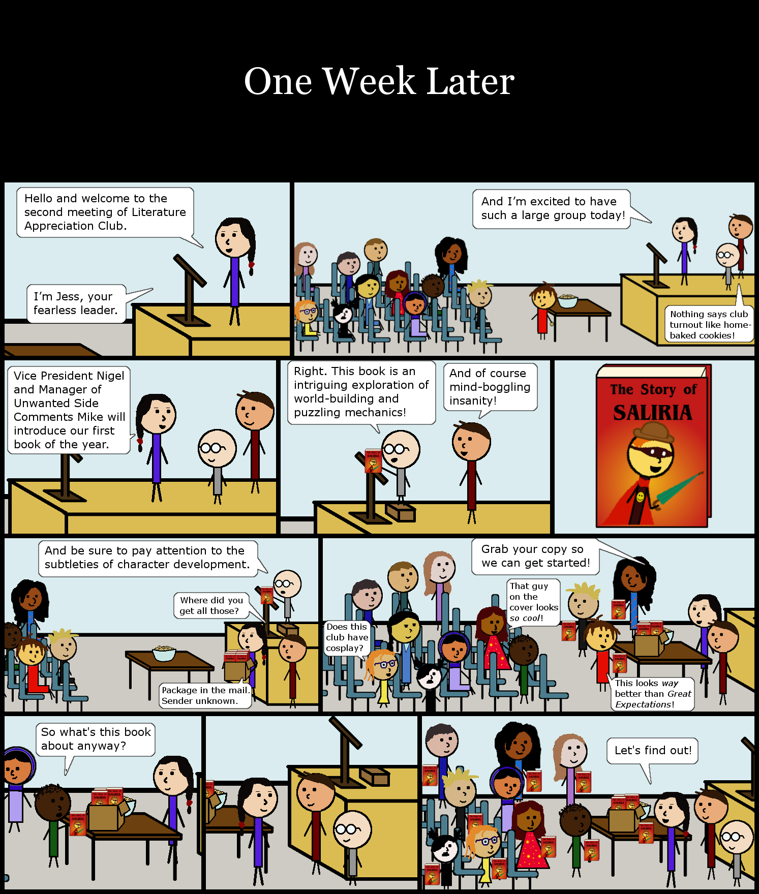 Epilogue: One Week Later